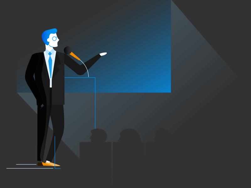 14 نکته برای کنترل استرس هنگام سخنرانی